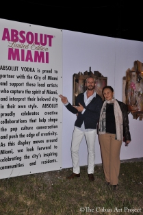 ABSOLUT VODKA'S Pop- Up gallery in Wynwood at Art Basil on December 1, 2011 in Miami, Florida. (33 of 75)