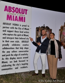 ABSOLUT VODKA'S Pop- Up gallery in Wynwood at Art Basil on December 1, 2011 in Miami, Florida. (34 of 75)