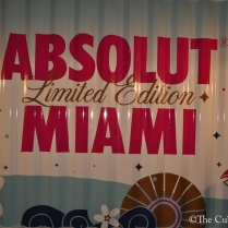 ABSOLUT VODKA'S Pop- Up gallery in Wynwood at Art Basil on December 1, 2011 in Miami, Florida. (71 of 75)